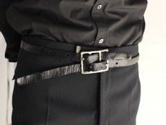 Carol Christian Poell – Object tanned diverging belt