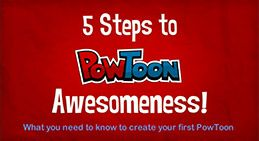 Make your own free animated presentations with PowToon.  PowToon logo - Make free animated videos and presentations online.  educator account can be free but if you want more bells and whistles you can get an educator classroom account for 72 dollars for the year with 60 student accounts.