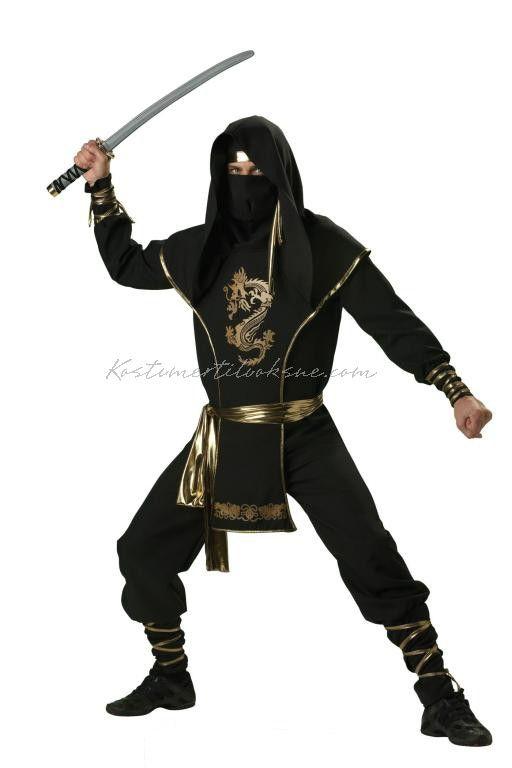 Ninja Kriger Kostumer Til Sidste Skoledag