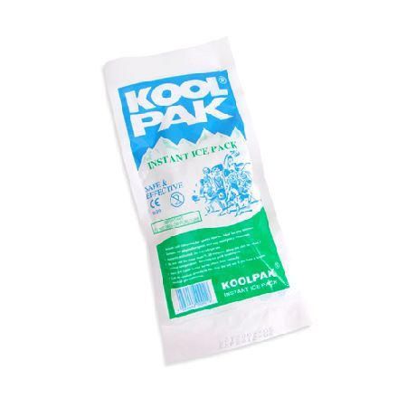 Koolpak Instant Ice Packs x 20pcs Instant Ice Packs are now seen as an essential item in any first aid kit and because of their multipurpose use they are perfect for treating soft tissue injuries, burns and general bumps and  http://www.MightGet.com/january-2017-11/koolpak-instant-ice-packs-x-20pcs.asp