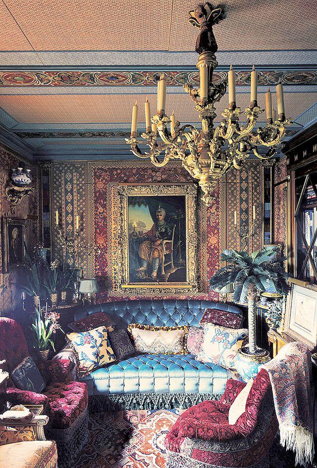 """Howard Slatkin's """"Fifth Avenue Style"""" Screening Room"""