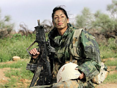 Cpl Elinor Joseph The First Female Arab Combat Soldier