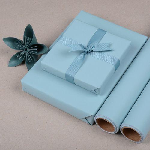 Gavepapir Himmelblå