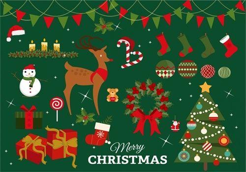 Christmas vector, latest Merry Christmas vector   Merry Christmas ...