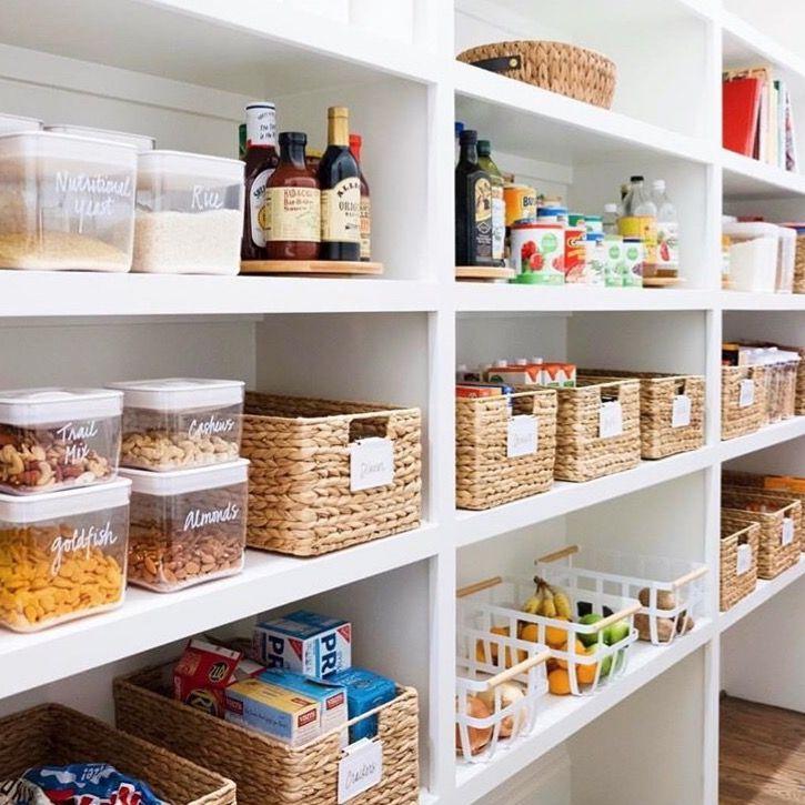 Idee Rangement Du Cellier Cuisine Rangement Garde Manger Cuisine Minimaliste Rangement Cuisine