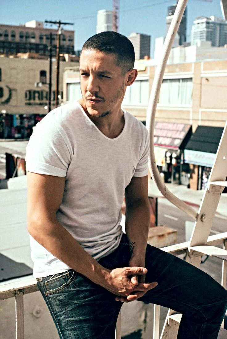 Theo Rossi aka Shades on Luke Cage... (yeah I know he was Juice on SOA, but Shades is where I know him from.)