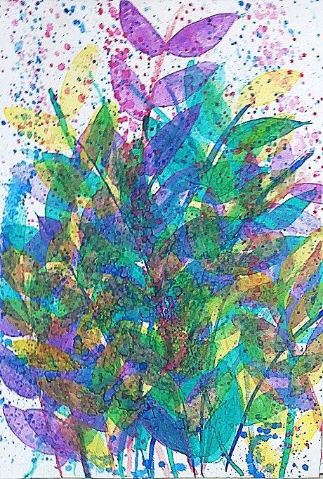 Check out Spring Soon Come by Aishah | Original Art | http://www.vangoart.co/aishah-ghina/spring-soon-come @VangoArt