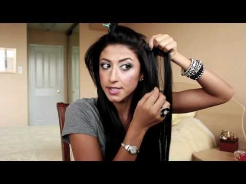 How to Clip In Luxy Hair Extensions..finally a good how to clip extensions in...but for me before i clip them in i back comb then clip the extensions in for a extra hold...once you watch the video you will understand what im talking about