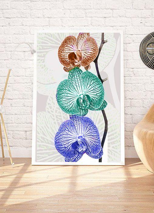 Flower Printable Art Instant Download Digital poster