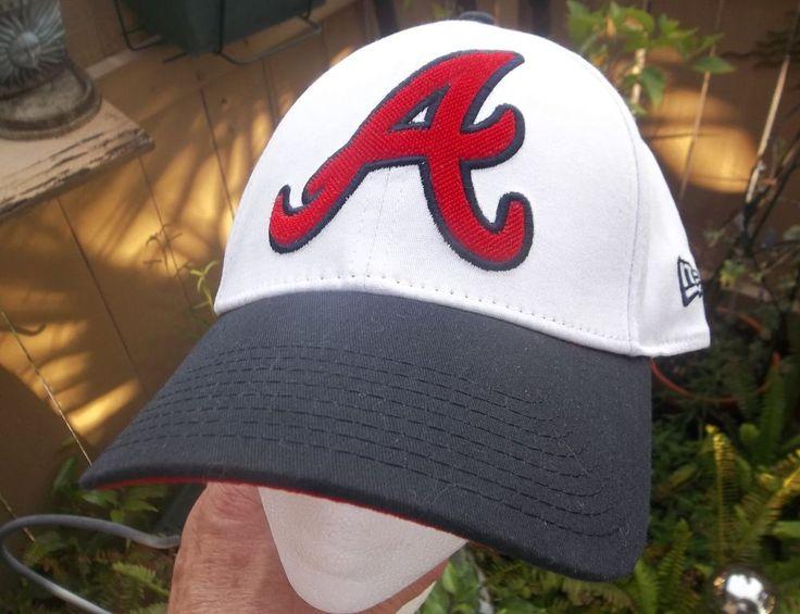 New Era Atlanta Braves Hat Large - Extra Large Cap Genuine MLB Merchandise #NewEra #AtlantaBraves
