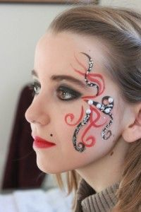 Maquillage Carnaval Femme, Maquillage Halloween Enfant, Idée Maquillage, Maquillage Artistique, Maquillage Chinois, Maquillage Professionnel, Coiffure,