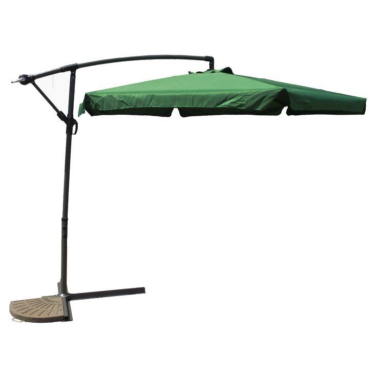 Have to have it. International Caravan Mesa 9.5-ft. Aluminum Cantilever Patio Umbrella - $180 @hayneedle