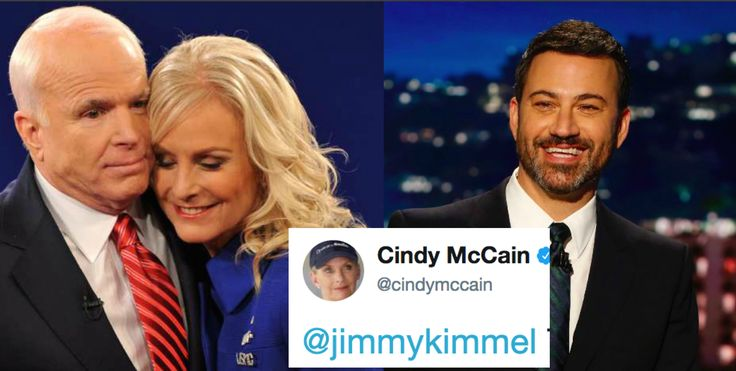 Cindy McCain's response to Kimmel's viral tweet just restored our faith in humanity.