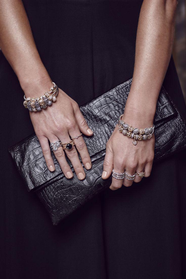 Glam up for a night out! #PANDORAloves blogger Brooke Testoni's lavish PANDORA styling. #PANDORAstyle