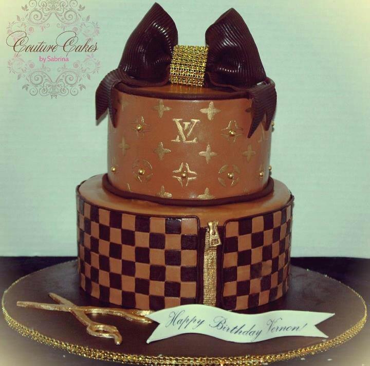 Cake Louis Vuitton Pinterest : Louis Vuitton themed cake Birthday Cakes Pinterest ...