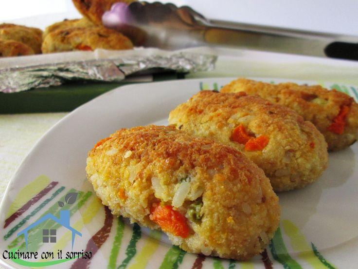 Crocchette di verdure e riso