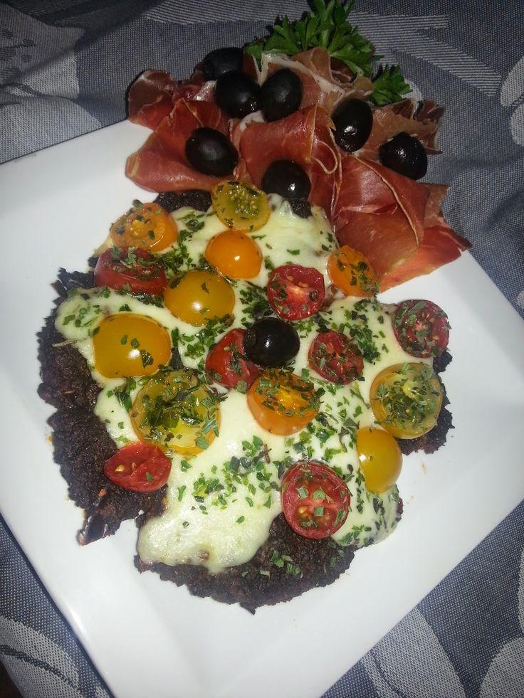 Koolhydraatarm dieet en recepten: Gehakt pizza