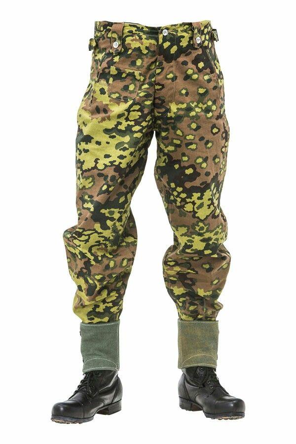 Waffen SS oakleaf Camo Trousers