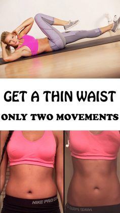 Get a Thin Waist in Only Two Movements