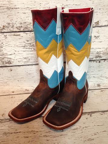 Macie Bean Chevron Boots