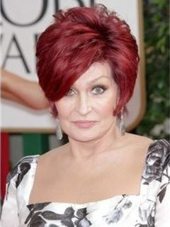 New Arrival Elegant Fabulous Sharon Osbourne Hairstyle Short Straight Capless Wig 100% Human Hair Item # W3038 Original Price: $480.00 Latest Price: $139.39