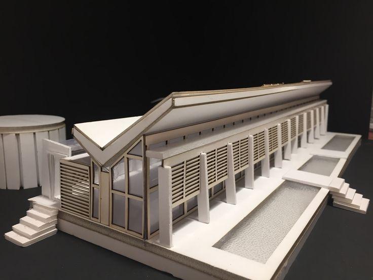 NEUGEBAUER HOUSE MODEL-1/100 Scale