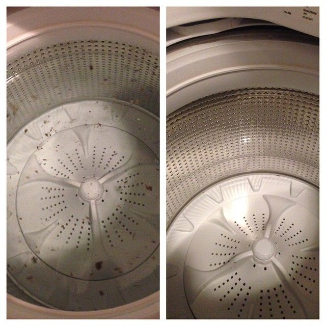 Naturally cleaned my HE washer!  I hate using the commercial washing machine cleaners.  They are very toxic and they don't get all the dispensers clean. I poured white vinegar and 5 drops of lemon oil in each of the dispensers and ran it on the clean washer setting. Look at all the gunk it cleaned out! My washer has never been this shiny after cleaning it!  #diy #essentialoils #greencleaning #dōTERRA