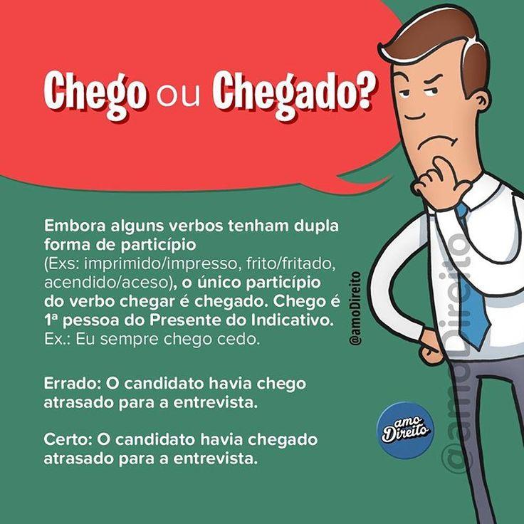 """3,690 curtidas, 63 comentários - amo Direito® (@amodireito) no Instagram: """" Ótima dica de português para marcar os amigos e nunca mais errar! Confira outras tantas aqui no…"""""""