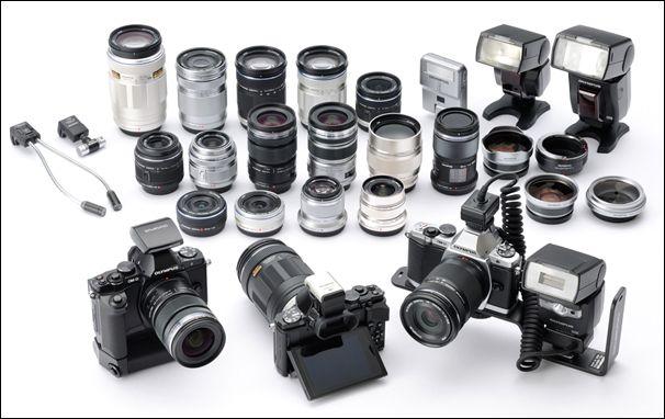 Olympus OMD EM-5: lenses + accessories