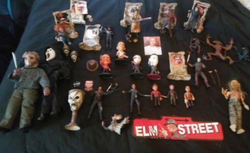 Massive Horror Toy Collection Freddy Jason Myers Leatherface Ghostface Chucky