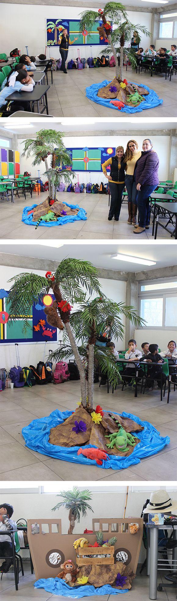 Decoración de aula - Isla Dominica