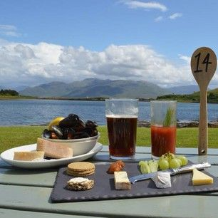 A Scottish cheese board at Hotel Eilean Iarmain, Isle of Skye. | 25 Incredible Things To Eat In Scotland Right Now