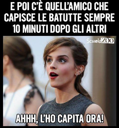 """""""Mi piace"""": 106.3 mila, commenti: 4,518 - ScuolaZoo (@scuolazoo_official) su Instagram: """"E ogni volta devi spiegargli le battute #amico #battute #scemo"""""""