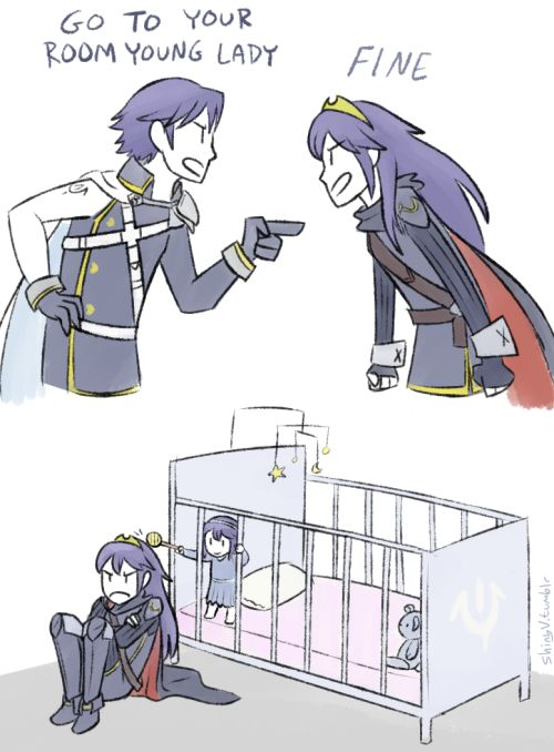 Fire Emblem: Awakening. This is what happens when your children time travel.