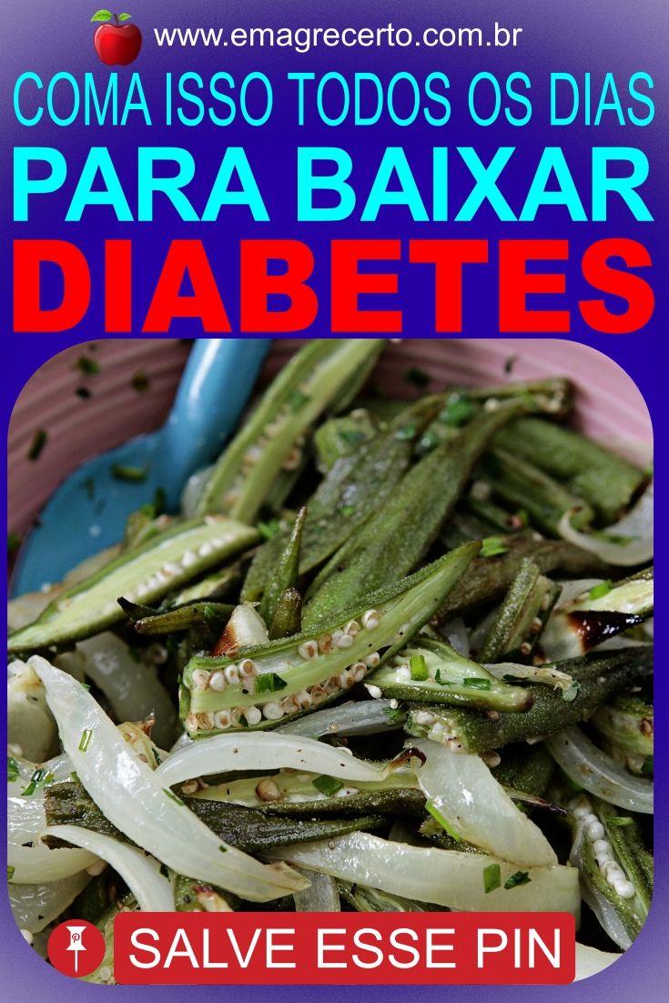 quiabo para tratar los síntomas de la diabetes