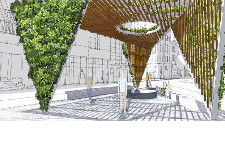 Baños Publicos Originales:Memorial Park Design