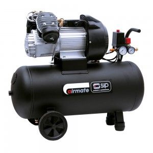SIP Airmate TN 3/50-D Oil Lubricated Air Compressor 14 CFM
