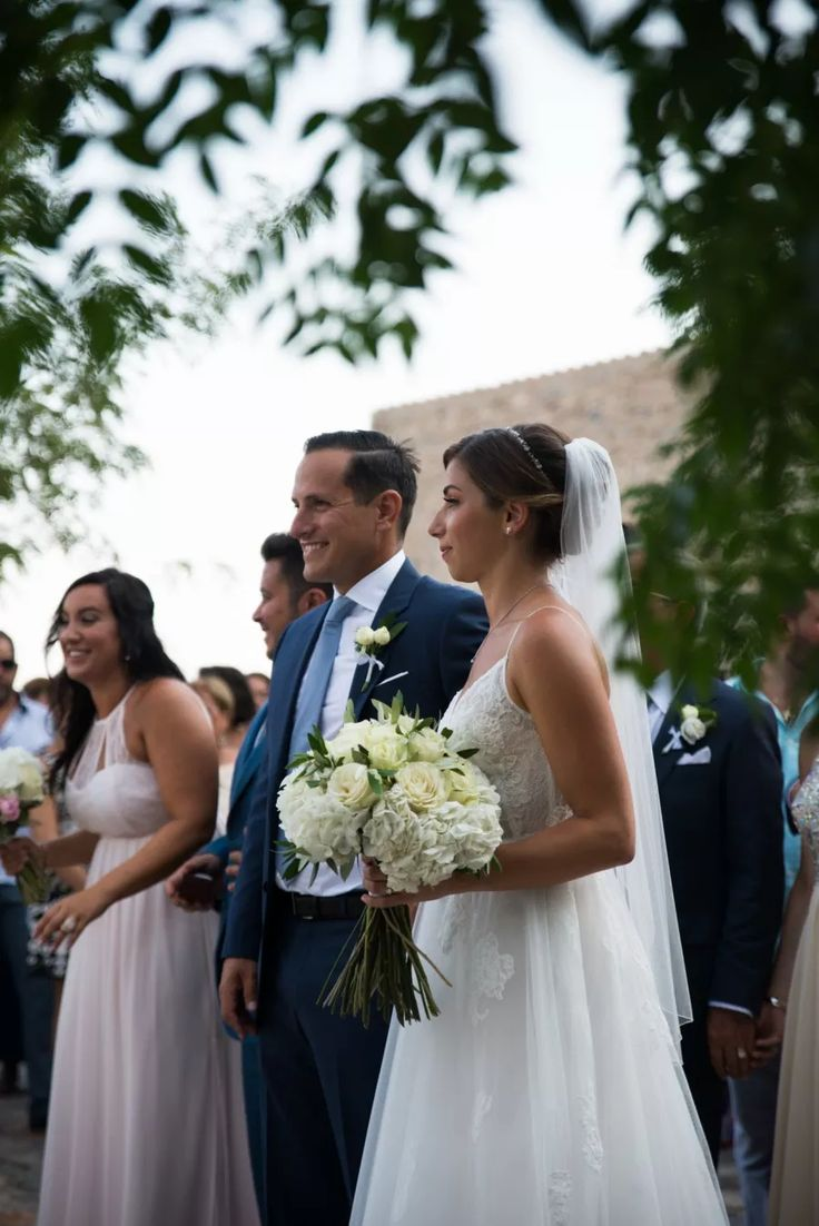 Natural, Light & Airy Small Town Wedding in Greece: Georgia & Mark