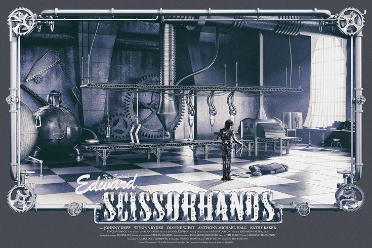 """Edward Scissorhands"" Regular Edition by Chris Skinner"