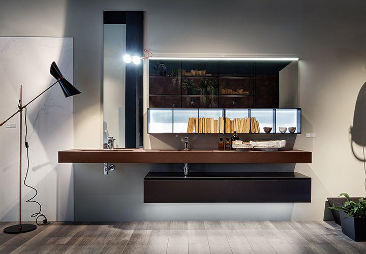 Bathroom furnishing Edoné Agorà Group: Iron