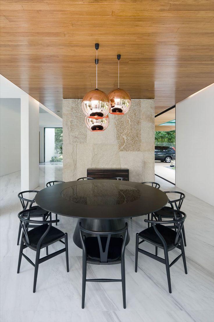 Metallic Exterior Meets Modern Interiors At Singapore's Green House