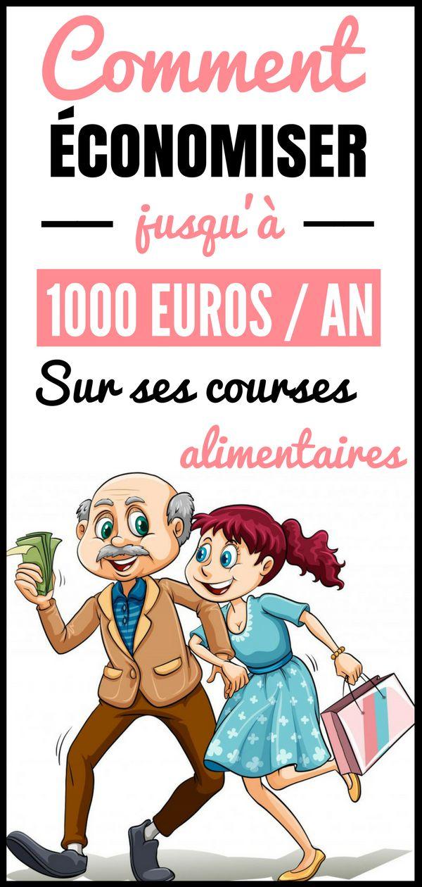 Comment économiser jusqu'à 1000 euros / an sur ses courses ? Chaque mois, les Français déclarent dépenser en moyenne 396 € pour s'alimenter. Un nombre qui augmente au fil des années ... Mais alors, comment économiser son argent quand on fait les courses ? Dans cet article, vous découvrirez une liste de trucs et astuces pour économiser de l'argent sur vos courses alimentaires. Faire des économies au quotidien, ce n'est pas évident, mais c'est faisable. #astuces