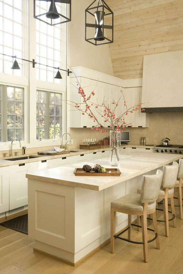 Check out the kitchen lightings  & windows
