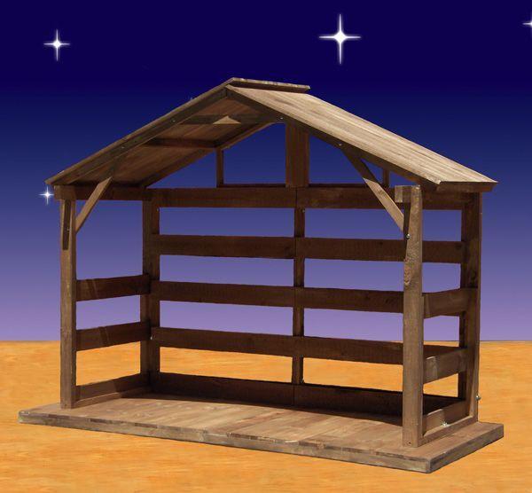 Best 25 Nativity Stable Ideas On Pinterest Nativity