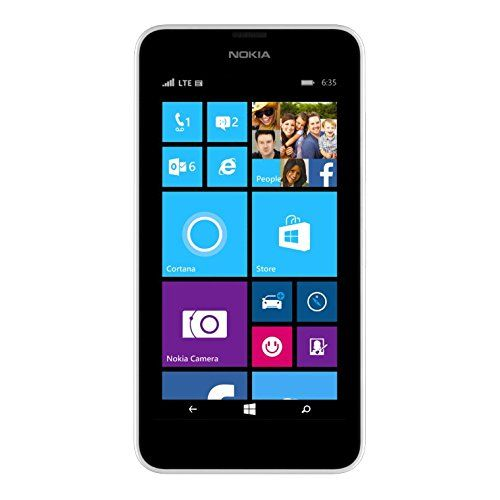 T-Mobile Nokia Lumia 635 - No Contract Phone - White, 2015 Amazon Top Rated No-Contract Cell Phones #Wireless