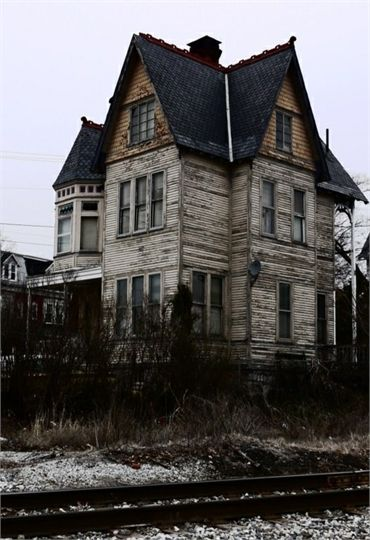 Abandoned Victorian. 956 Linden Avenue, York, Pennsylvania. This house was recently abandoned after the last owner died without a will.