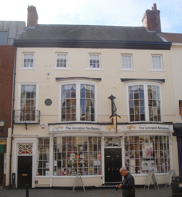The Georgian Tea Rooms, High Street, Doncaster, South Yorkshire