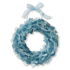 sea glass wreath....love! #glassislife