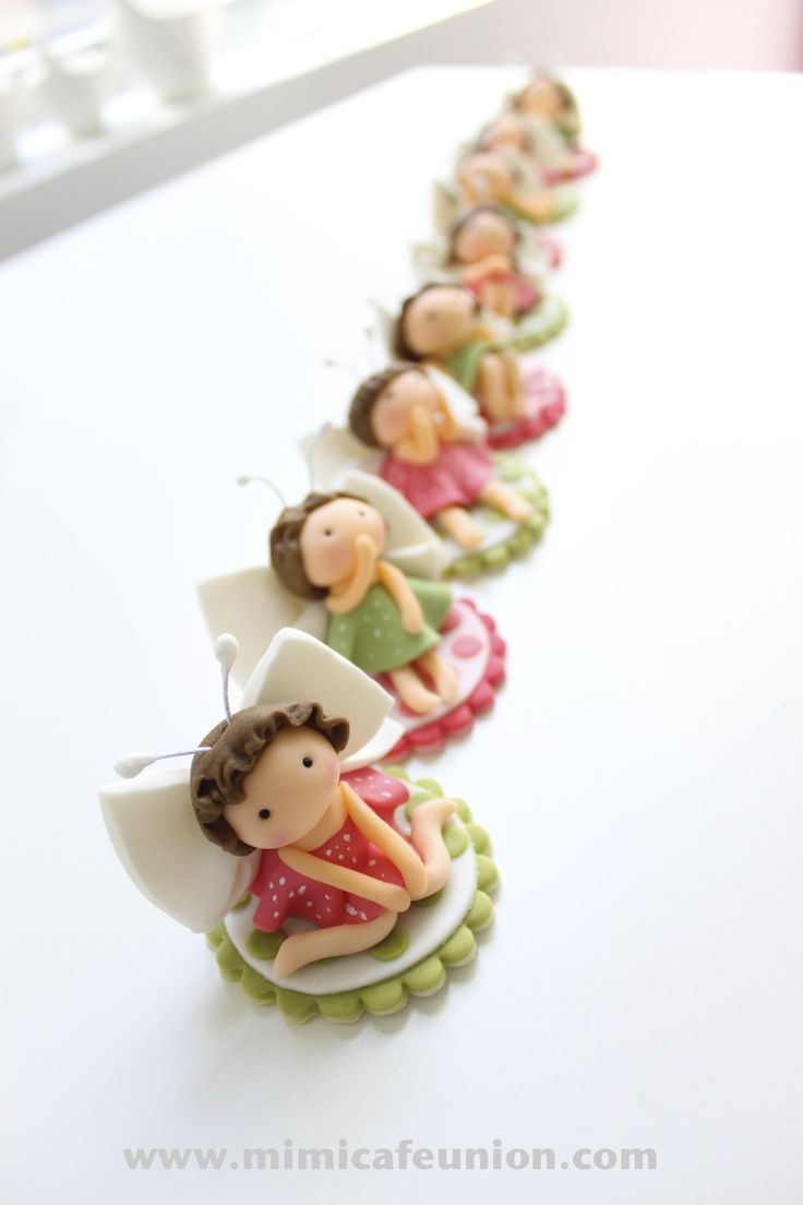 Fairy Fondant Toppers created by mimicafe Union
