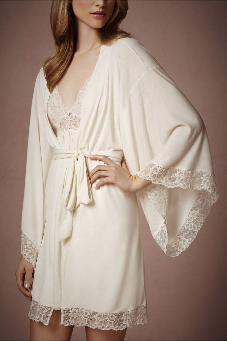 Just Ordered My Bridal Robe! Can't wait to wear this on my wedding day and for years to come! Love it!
